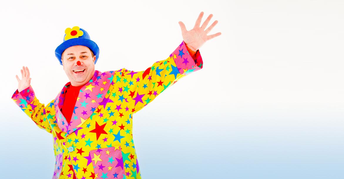 kids entertainer dazzle clown image