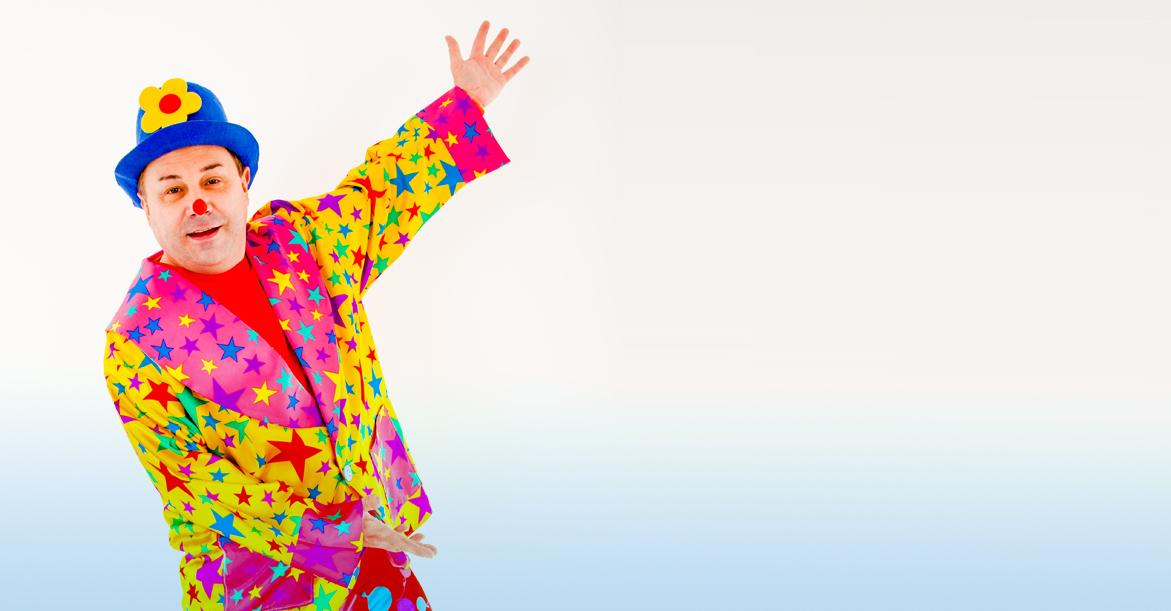children party entertainer dazzle clown image